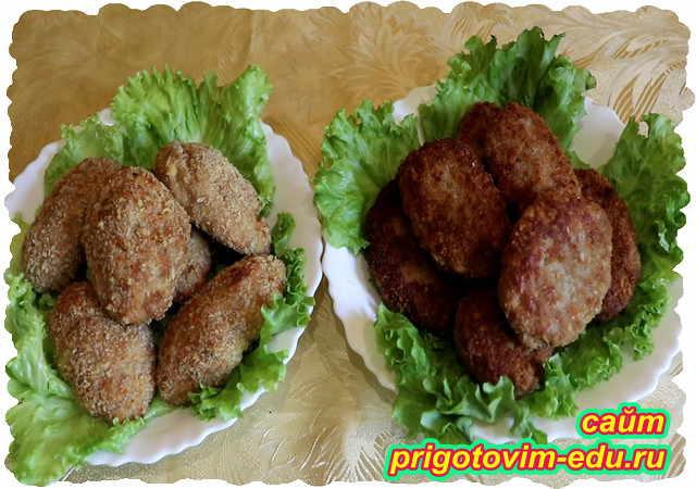 Куриные котлеты с творогом - 7 пошаговых фото в рецепте