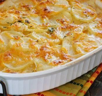 Картофельная запеканка в духовке