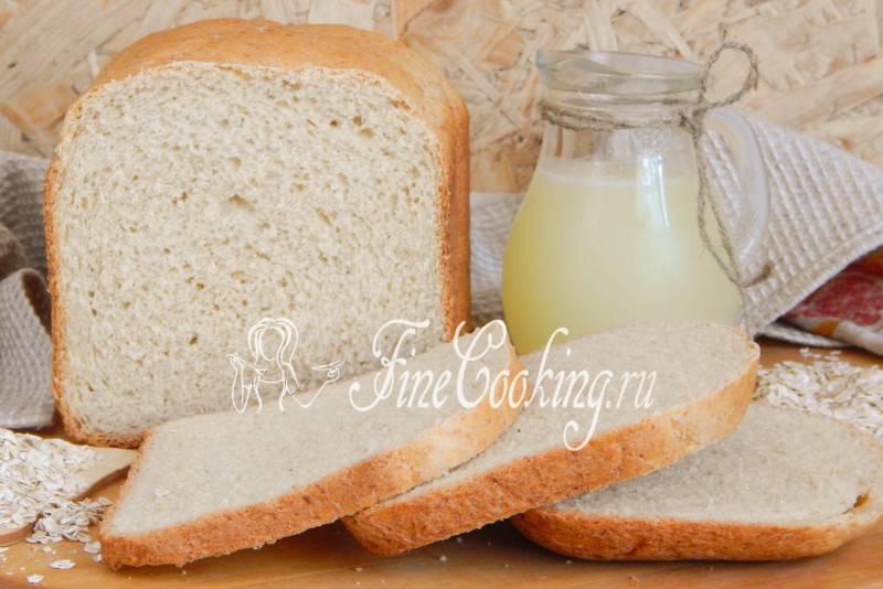 Хлеб на сыворотке без дрожжей