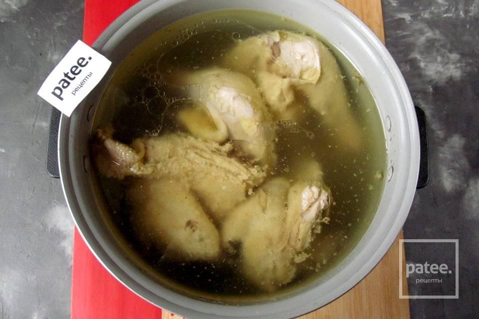 Холодец из курицы в мультиварке: рецепт с фото пошагово