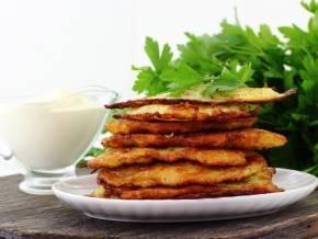 Кабачковые драники из кабачков и картошки