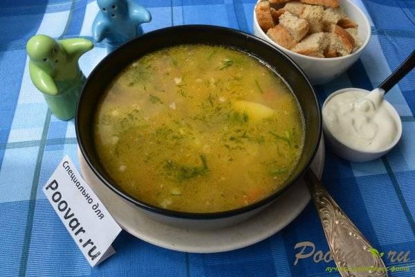 Суп с крупами