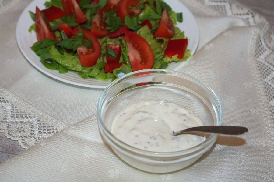 Салатная заправка - рецепты