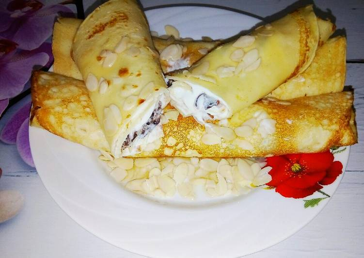Кукурузные блины / рецепт с фото