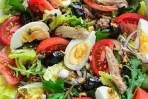 Салат нисуаз — классический рецепт с тунцом. как приготовить французский салат нисуаз, фото. соус, заправка нисуаз — рецепты