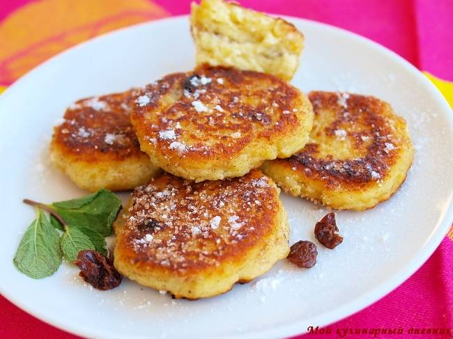 Сырники по-саксонски - пошаговый рецепт с фото на сайте банк поваров