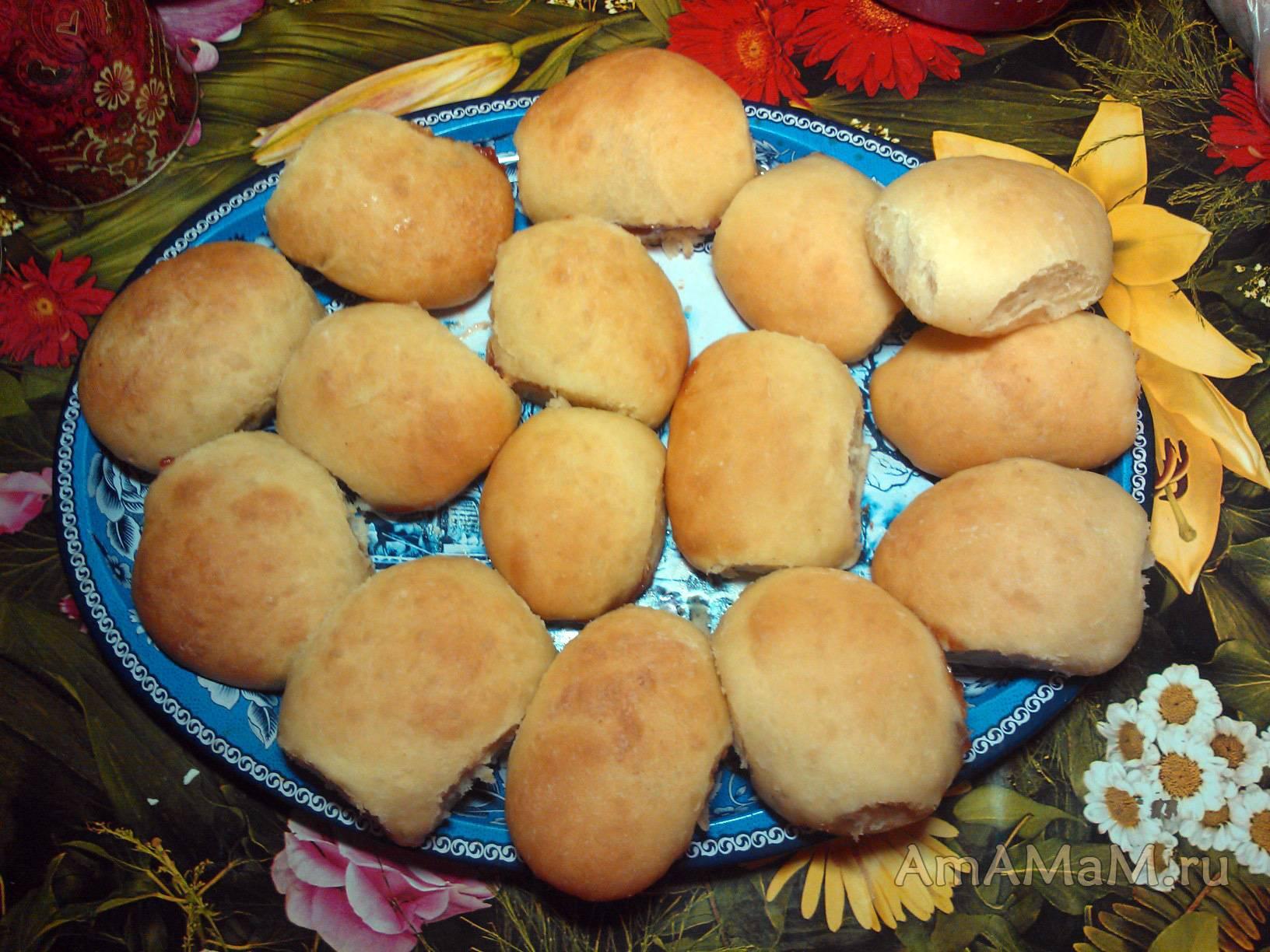 Пирожки с печенью и картошкой/ рецепт с фото