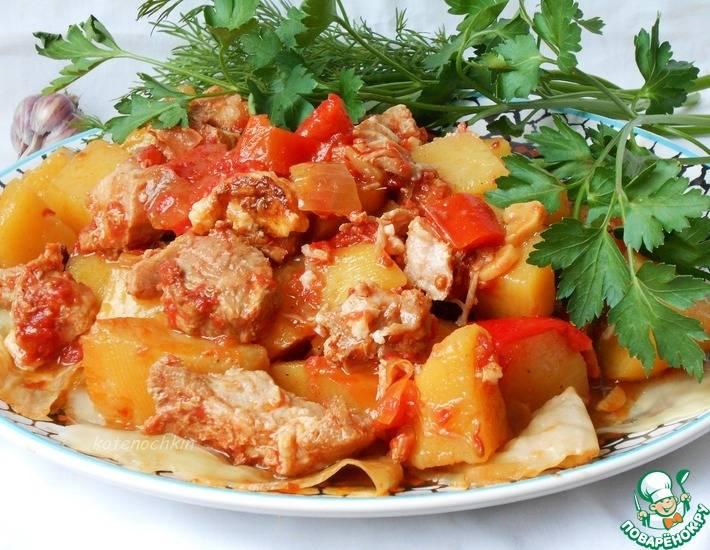 Домляма - вкусное, необыкновенно ароматное блюдо!