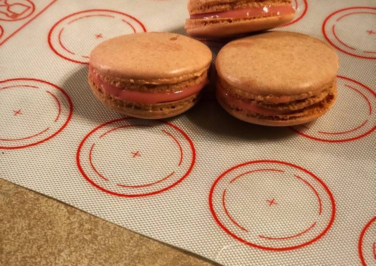 Французское миндальное печенье макарон