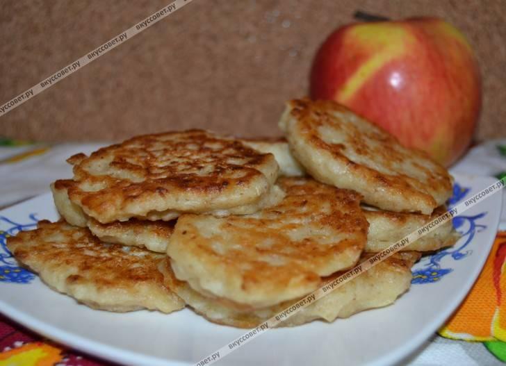 Яблочные блины - 9 пошаговых фото в рецепте