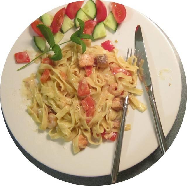 Фарфалле в сливочном соусе. пошаговый рецепт с фото • кушать нет