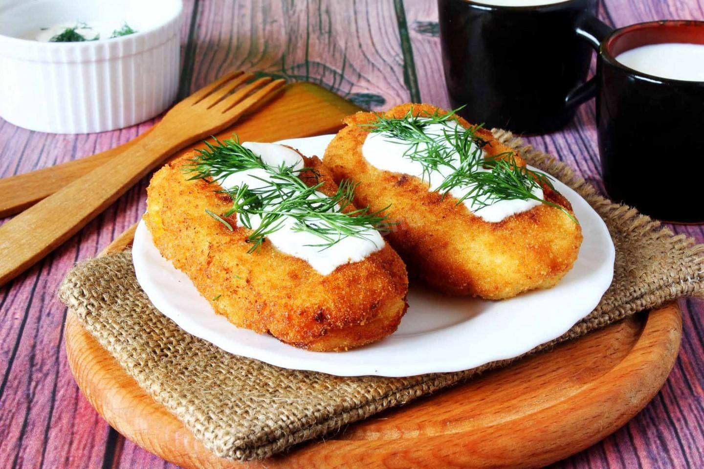"""Картофельные зразы с фаршем """"картопляники"""""""