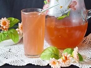 Лимонно-апельсиновый напиток с базиликом: рецепт с фото