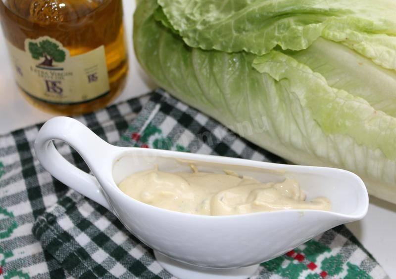Соус для салата «цезарь» в домашних условиях - классический рецепт и варианты с майонезом, сыром и горчицей