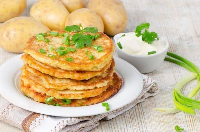 Хрустящие картофельные драники за 30 минут