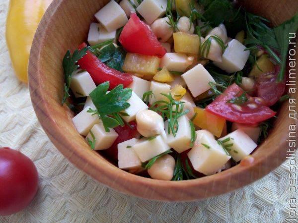 Cалат с пророщенным горохом — вкусно и полезно