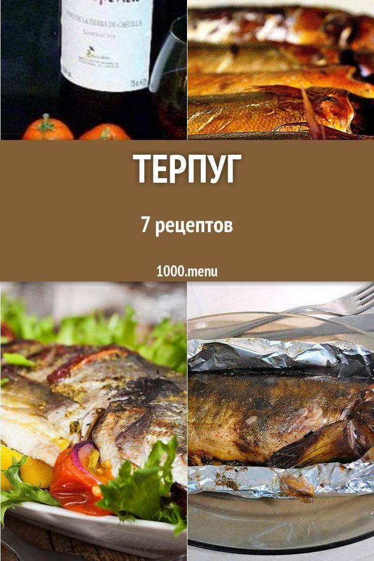 Блюда из рыбы терпуг, рецепты с фото, как приготовить терпуг?