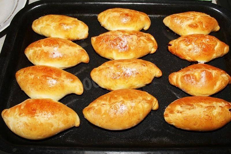 Пирожки с абрикосовой начинкой