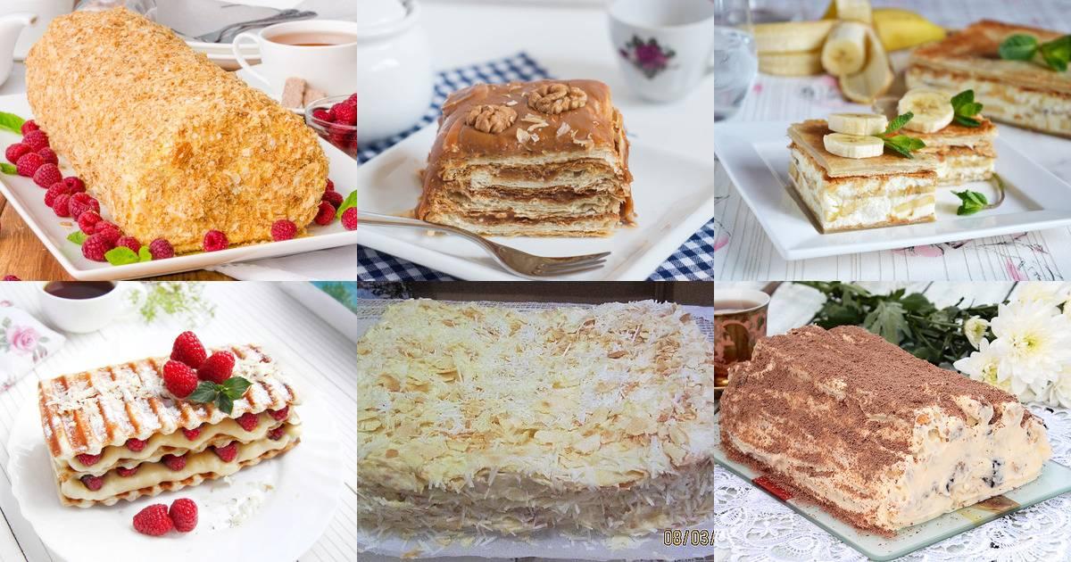 Слоеный торт - рецепты