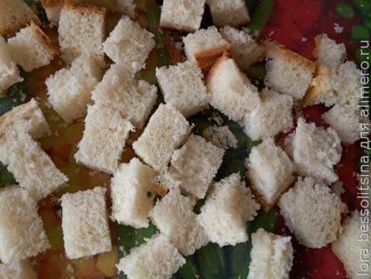 Сухарики с разными вкусами