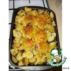 Куриные бёдрышки в соусе в духовке