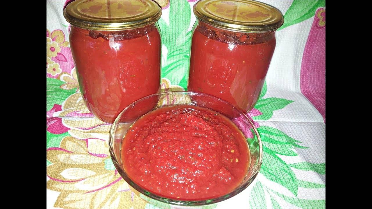 Домашний томатный соус к пасте