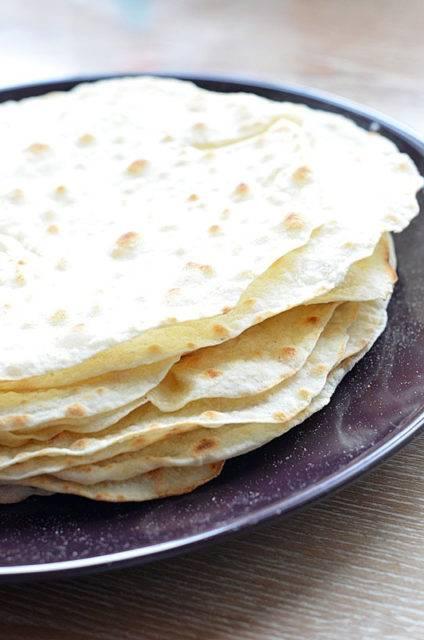 Тонкий лаваш в домашних условиях на сковороде - рецепт с фото