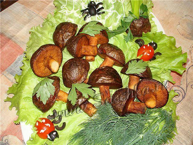 Картофельные грибочки