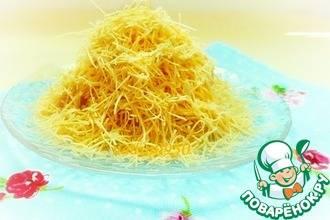 Рецепт домашней лапши на яйцах для супа рецепт