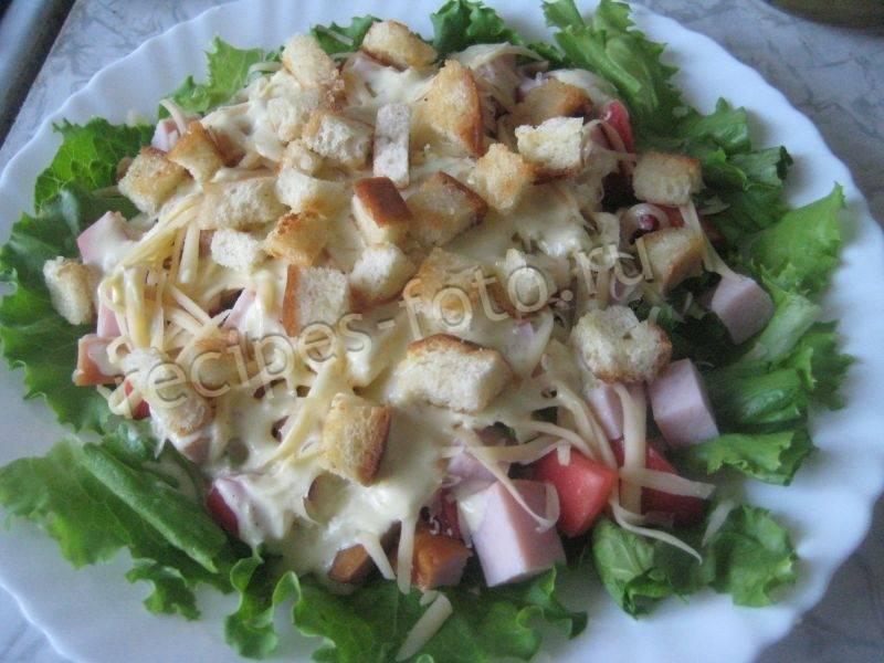 Рецепт: соус для салата цезарь