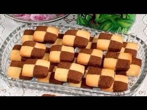 Печенье шахматное ️