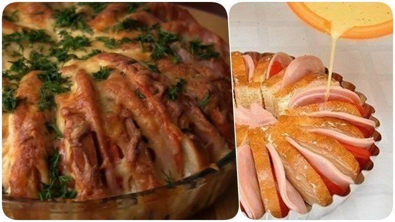 Гренки с помидорами и сыром - 10 пошаговых фото в рецепте