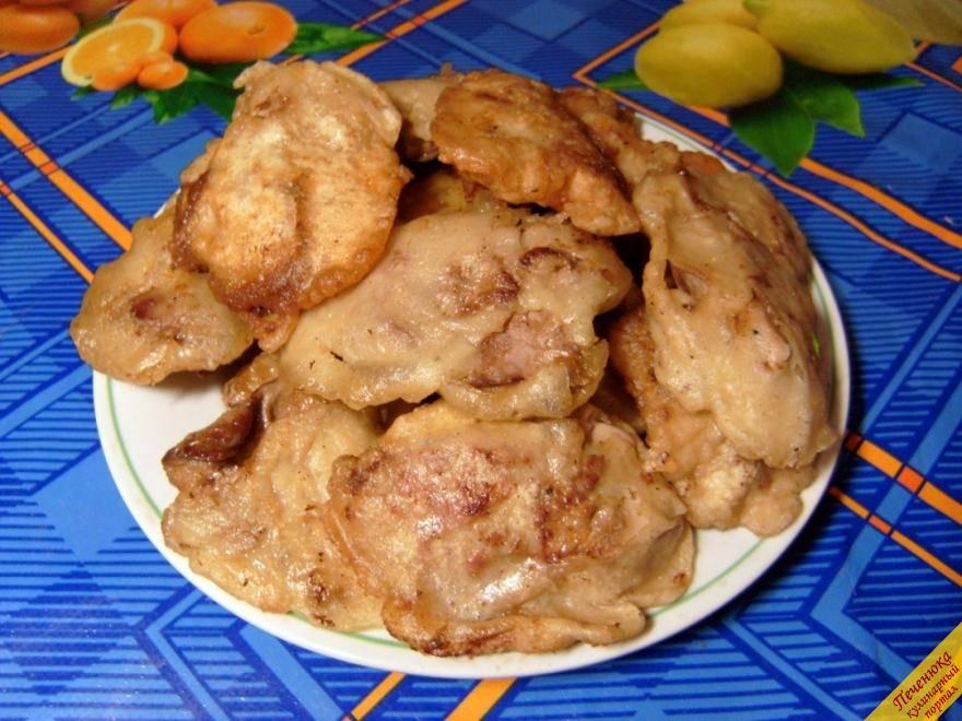 Куриная печень в кляре - рецепт с фотографиями - patee. рецепты
