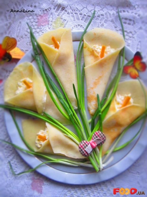 Блинчики весенний букет. рецепт блинчиков вкусных и красивых. блинчики с начинкой - пошаговый рецепт с фото на сайте банк поваров