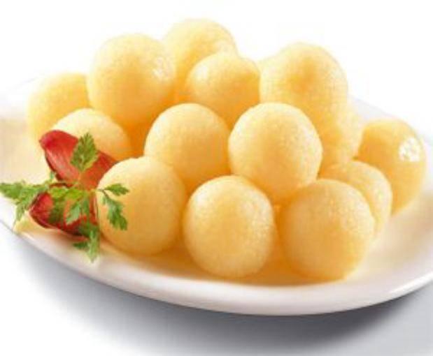 Клецки картофельные с мясом
