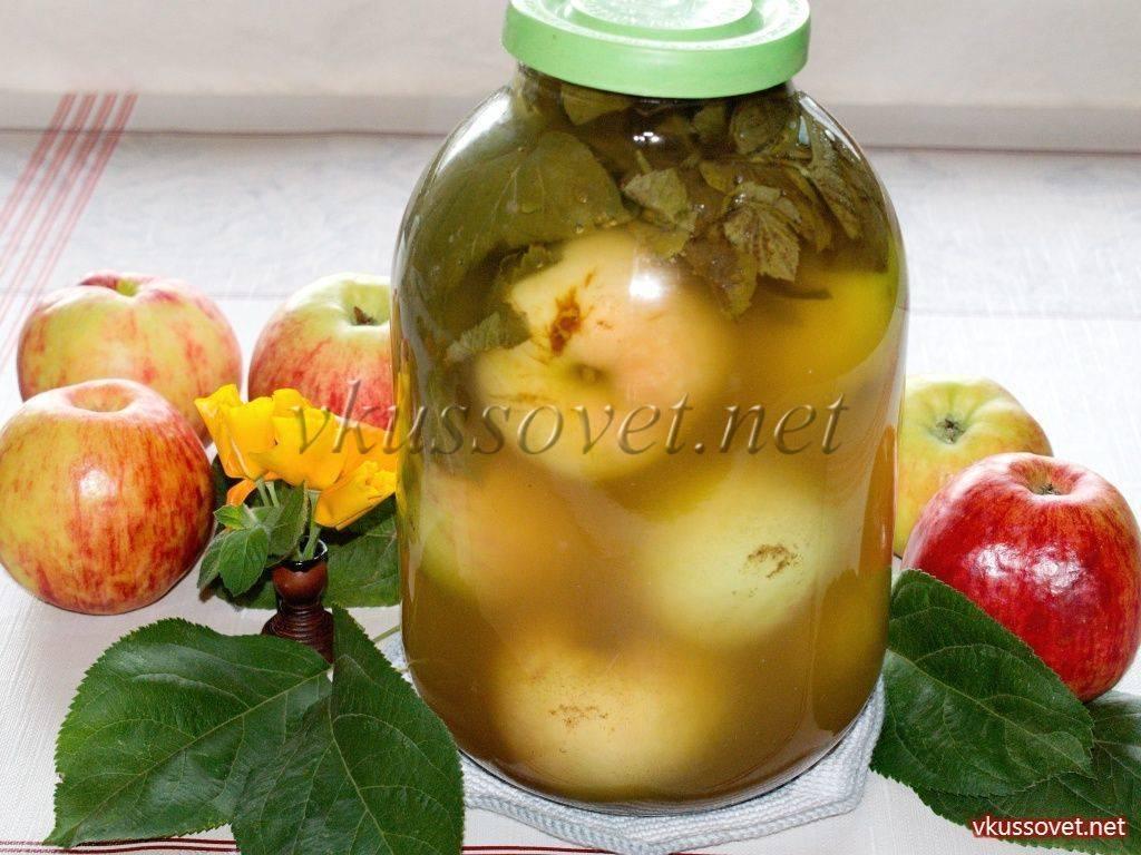 Рецепт приготовления быстрых моченых яблок