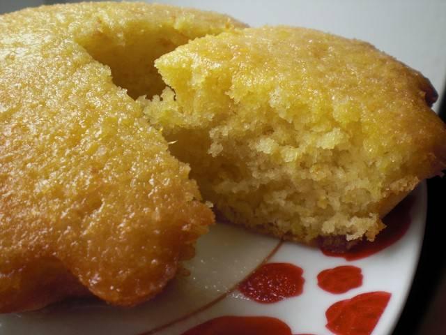 Рецепт кекс на кефире с апельсинами