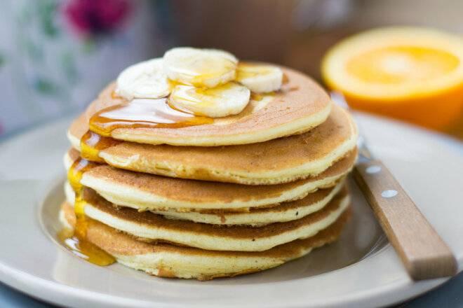 Рецепты пп панкейков: диетические и низкокалорийные