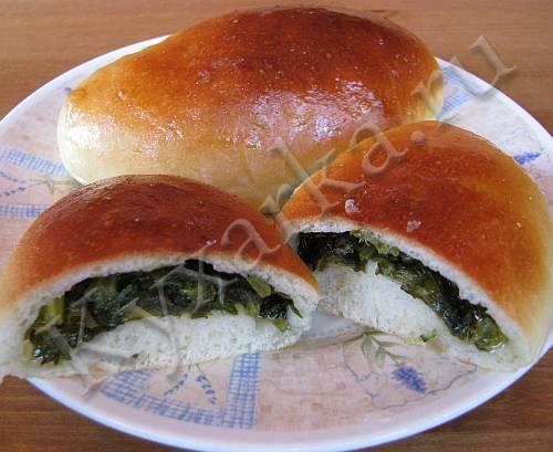 Сладкие пирожки с щавелем в духовке: рецепт с фото, секреты приготовления