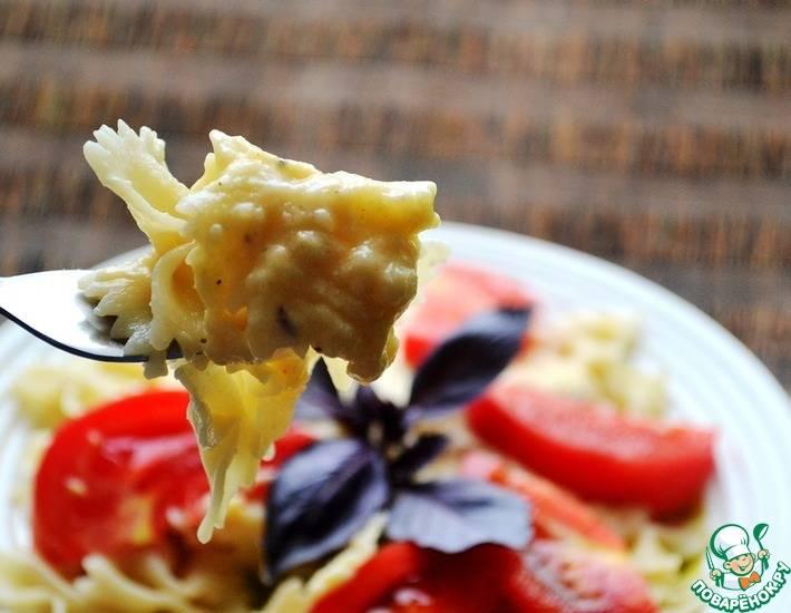 Легкий сырный соус за 5 минут