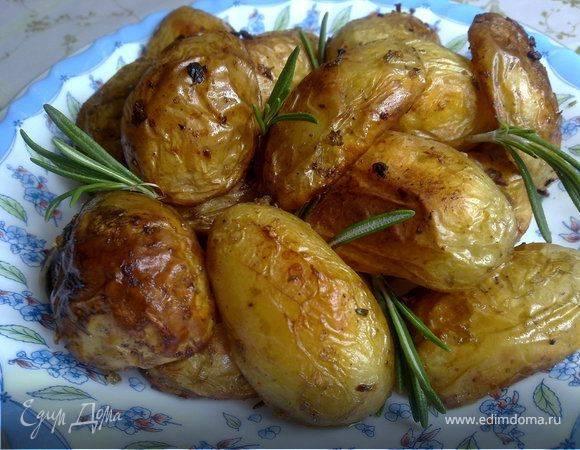 Картофель запеченный с розмарином рецепт с фото, как приготовить картофель с розмарином в духовке
