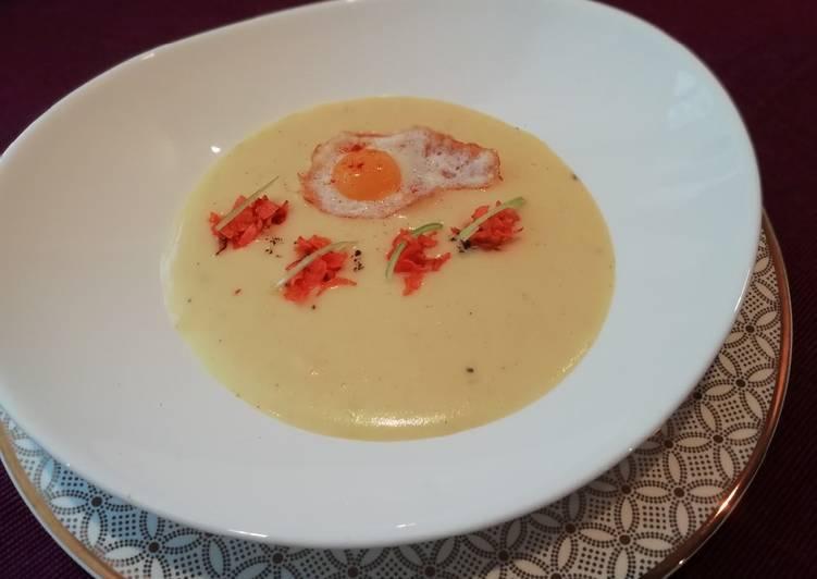 Суп картофельный с яйцом рецепт