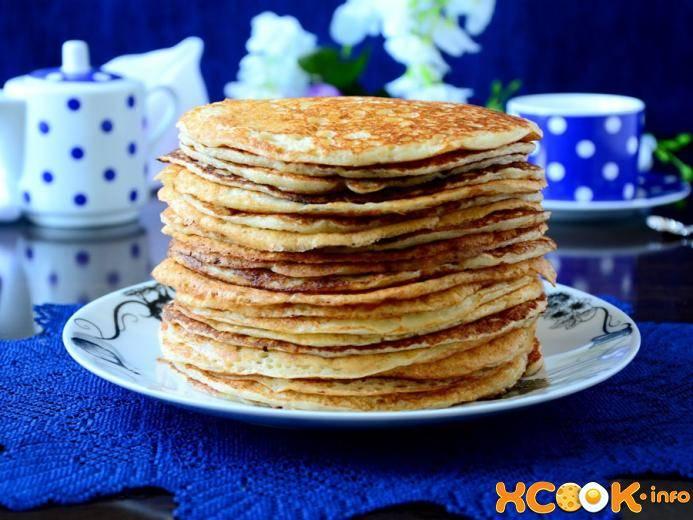 Блины на манке: пошаговые рецепты толстых татарских блинчиков, на молоке, кефире, дрожжах, фото и видео