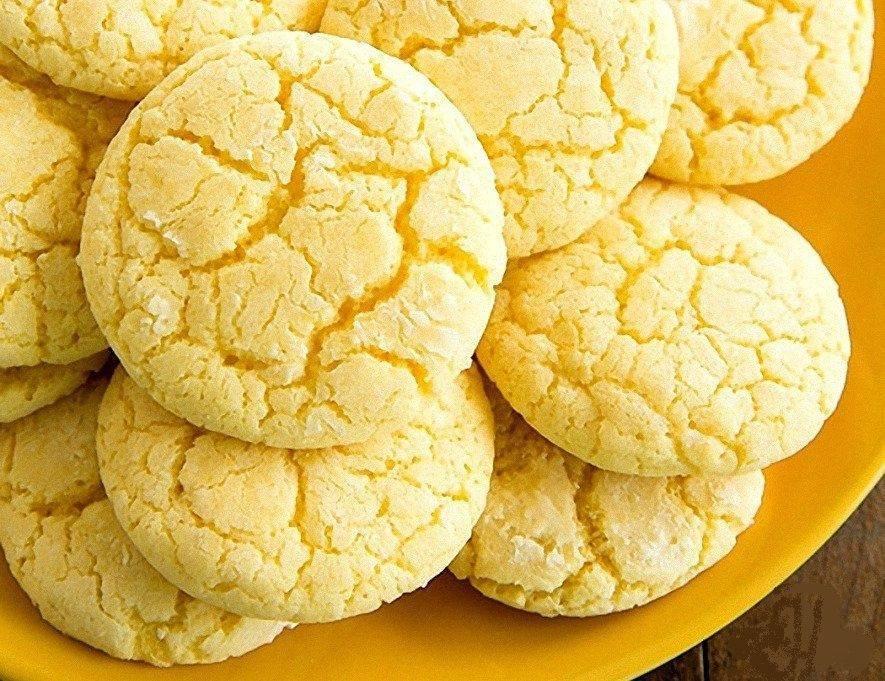 Лимонное печенье рецепт с фото, как приготовить на webspoon.ru