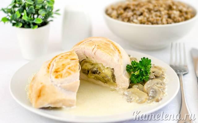 Рецепты куриная грудка фаршированная сыром