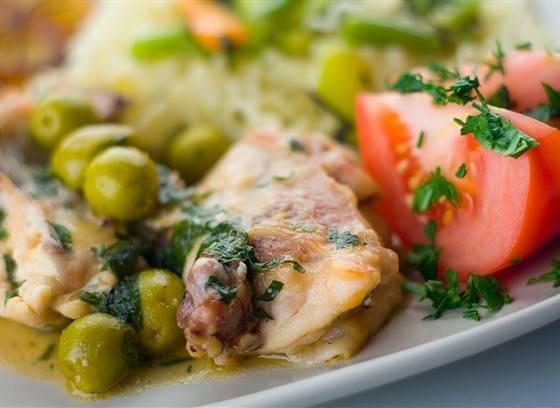 Рецепт фенхель, фаршированный куриной грудкой