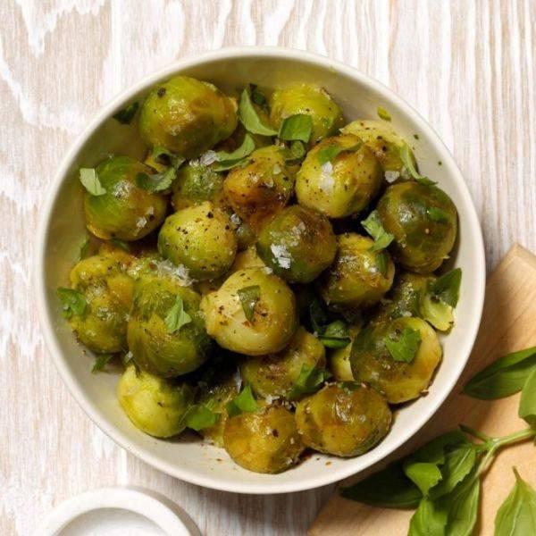 Как готовить брюссельскую капусту свежую и замороженную - рецепты