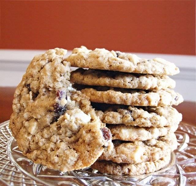 Рецепт печенья с клюквой