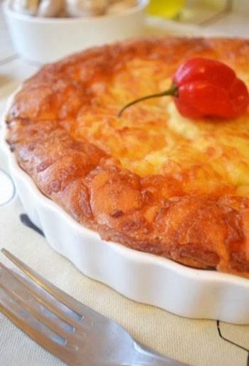 Обсыпной сливовый пирог и творожная запеканка