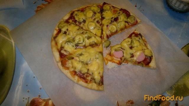 """Мясная """"пицца"""""""